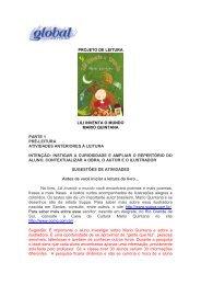 PROJETO DE LEITURA LILI INVENTA O MUNDO ... - Global Editora