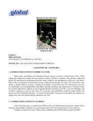 PROJETO DE LEITURA 12 HORAS DE TERROR ... - Global Editora