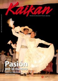Revista Kaikan setiembre 2010 - Asociación Peruano Japonesa