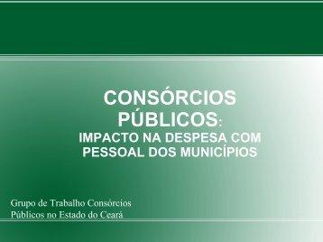 Apresentação - Consórcio Público do Estado do Ceará