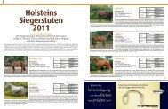 Holsteins Siegerstuten 2011 - Pferd+Sport