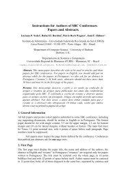 Instruções aos Autores de Contribuições para o SIBGRAPI - Unitri