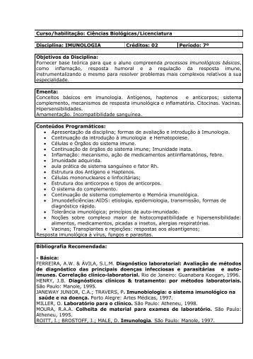 Imunologia - Unicruz