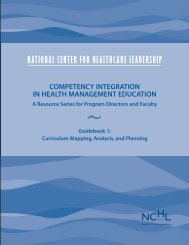 Curriculum Mapping, Analysis, and Planning - National Center for ...