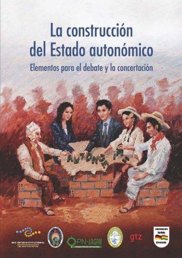 La construcción del Estado autonómico - Plataforma Pacto por el ...