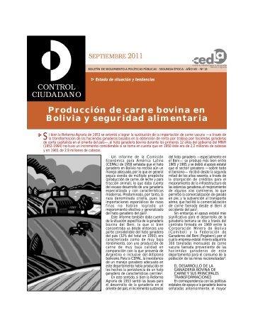 produccion de carne bovina en Bolivia.pdf - Cedla
