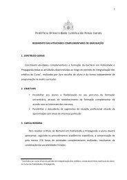 REGIMENTO DAS ATIVIDADES COMPLEMENTARES DE ...