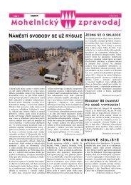 Mohelnický zpravodaj srpen 2012 - Mohelnické kulturní centrum