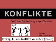 Konflikte verstehen - EFG Gedern & Limeshain