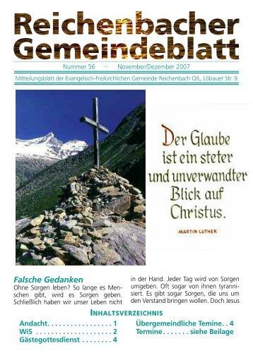 Nr. 55 September/Oktober 07 - bei der EFG Reichenbach