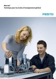 MecLab® Technique pour les écoles d'enseignement général - Festo
