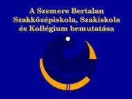 Szemere Bertalan Középiskoláról - inter-studium.hu