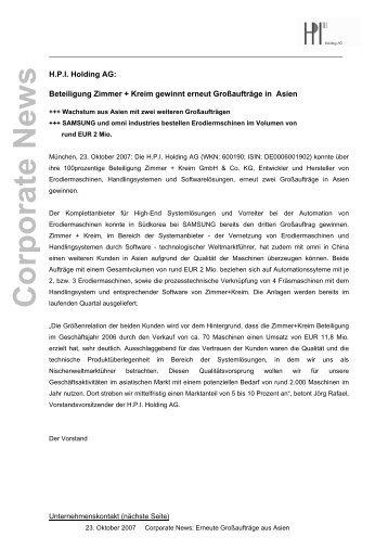 Wolff m ller beteiligung erbud erneut mit rekordjahr for Zimmer und kreim