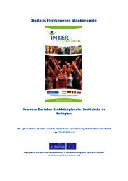 Digitális fényképezés alapismeretei - inter-studium.hu