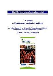 A fényképezés gyakorlati területei - inter-studium.hu