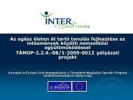 a korszerű tananyagfejlesztésről - inter-studium.hu