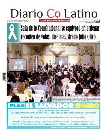 Edición 09 de Mayo de 2015
