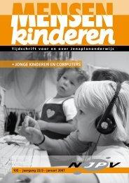 • Jonge kinderen en computers