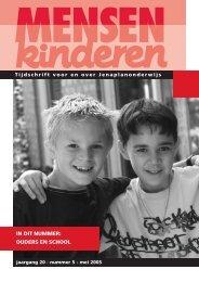in dit nummer: ouders en school - Nederlandse Jenaplanvereniging