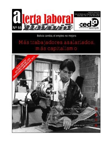 Alerta 66.FH11 - Cedla