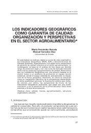 los indicadores geográficos como garantía de calidad - Revista ...
