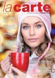 Weihnachtliches Sterne-Koch Achilles Bummeln Grünkohl Whisky ...