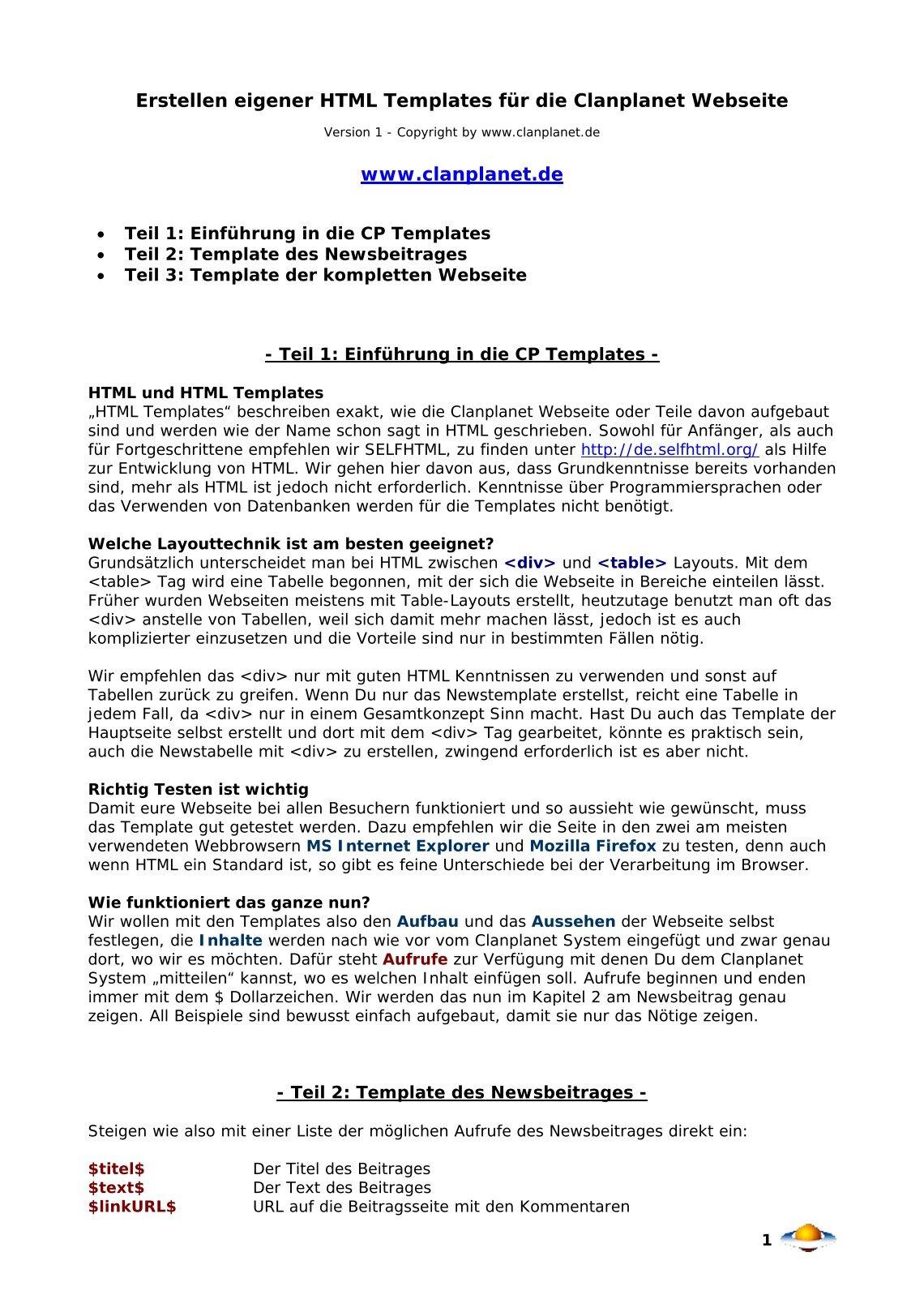 Gemütlich Erstellen Von Html Vorlagen Bilder - Entry Level Resume ...