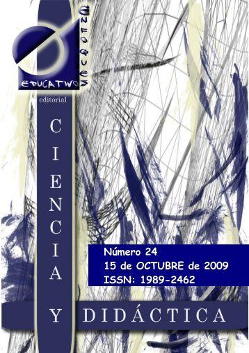 revista digital ciencia y didáctica - enfoqueseducativos.es
