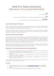 Rede Fé e Desenvolvimento - FEC
