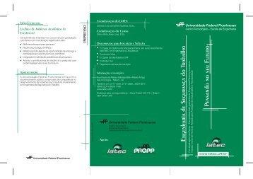 Folheto EST_2006.pdf - Latec - UFF