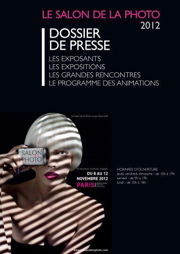 Liste arrêtée au 25 octobre 2012 - Salon de la Photo