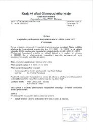 Zpráva o výsledku přezkoumání hospodaření města Loštice za rok ...