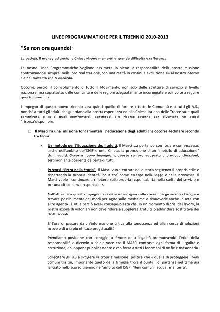 LINEE PROGRAMMATICHE APPROVATE.pdf - Masci