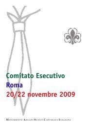 Comitato Esecutivo Roma 20/22 novembre 2009 - Masci