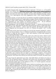 CRONACA dell'Assemblea Generale della CNAL 29 marzo ... - Masci