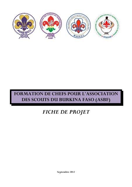 FICHE DE PROJET - Masci