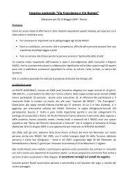 All. 9 - Relazione Vie Francigene e Romee.pdf - Masci