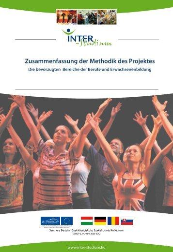 Zusammenfassung der Methodik des Projektes