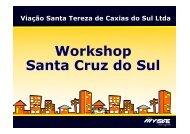 Workshop Santa Cruz do Sul