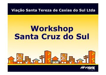 Workshop Santa Cruz do Sul