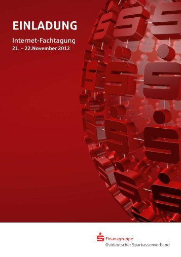 Einladung Internet-Fachtagung 2012 - Ostdeutscher ...