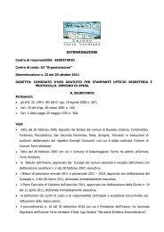 DETERMINAZIONE - Unione Terre Verdiane