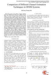 Comparison of Different Channel Estimation Techniques in OFDM ...
