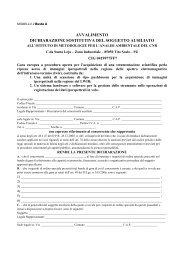 avvalimento dichiarazione sostitutiva del soggetto ausiliato - CNR