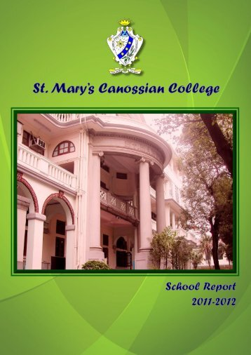 The School Management Committee - St. Mary's Canossian College
