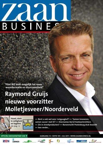 Raymond Gruijs nieuwe voorzitter Molletjesveer ... - Zaanbusiness