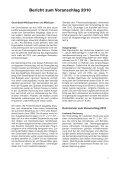 Voranschlag 2010 - Brunnen - Page 5