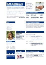 2007-10-10 RAI HC Kurs Auffrischung- ERFA - Root Service AG