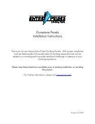 Durastone Panels Installation Instructions - Entre Prises Climbing ...