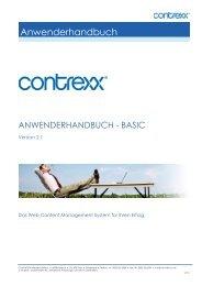 Anwenderhandbuch - Contrexx